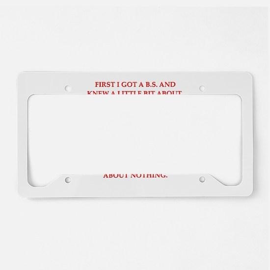 14 License Plate Holder