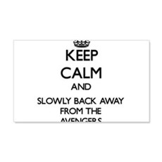 Keep calm and slowly back away from Avengers Wall