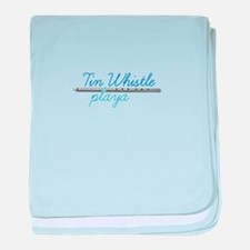 Tin Whistle Playa baby blanket