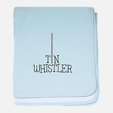 TIN WHISTLE baby blanket