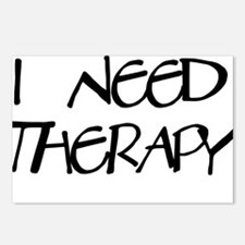 I Need Therapy Postcards (Package of 8)