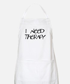 I Need Therapy BBQ Apron