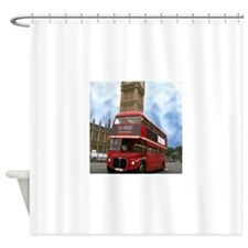 DOUBLE DECKER Shower Curtain