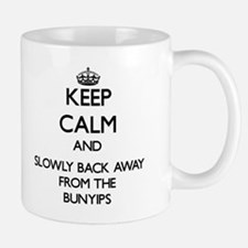Keep calm and slowly back away from Bunyips Mugs