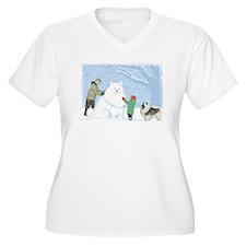 Keesie Snow Dog T-Shirt