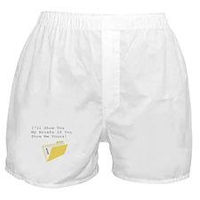 Show Me Your Briefs Boxer Shorts