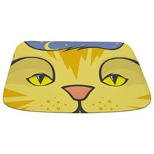 Cat Face Bathmat