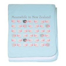 Meanwhile in New Zealand with flock many sheep bab