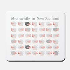Meanwhile in New Zealand with flock many sheep Mou