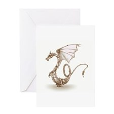 Clockwork Dragon Greeting Cards