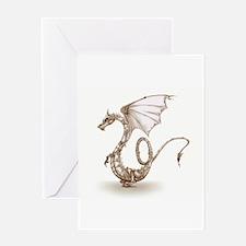 Clockwork Dragon Greeting Cards