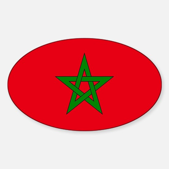 moorish flag, morocco glag, moroccan flag, Decal