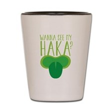 Wanna See my HAKA? Maori KIWI open mouth with a to