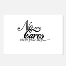 No One Cares About Your Blog Postcards (Pkg of 8)