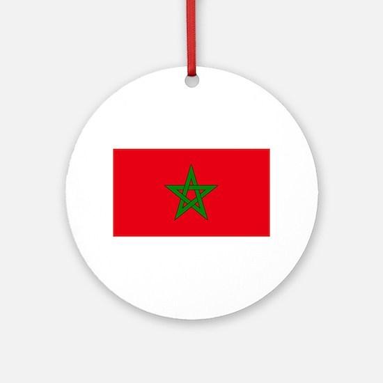 moorish flag, morocco glag, morocca Round Ornament