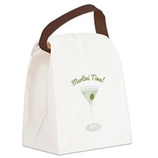Martini Time! Canvas Lunch Bag