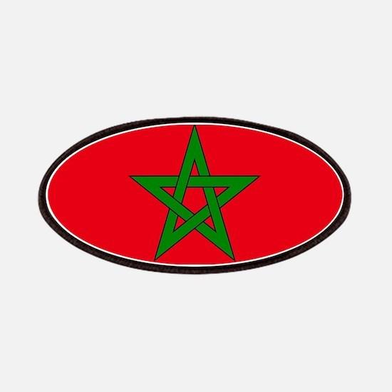 moorish flag, morocco glag, moroccan flag, m Patch
