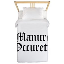 Manure Occureth Twin Duvet