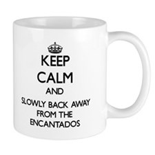 Keep calm and slowly back away from Encantados Mug