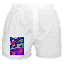 Colorful Fruits Boxer Shorts
