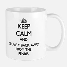 Keep calm and slowly back away from Fenris Mugs