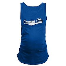Carmen City, Retro, Maternity Tank Top