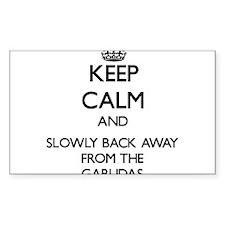 Keep calm and slowly back away from Garudas Sticke