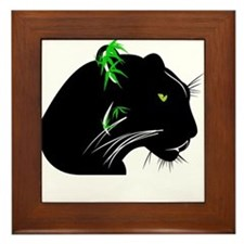 The Panther Framed Tile