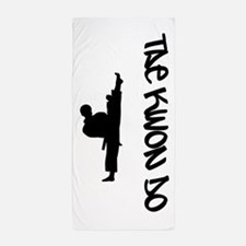 Tae Kwon Do Beach Towel