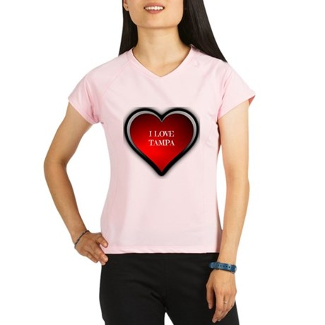 I Love Tampa Performance Dry T-Shirt