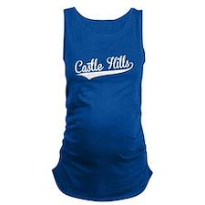 Castle Hills, Retro, Maternity Tank Top