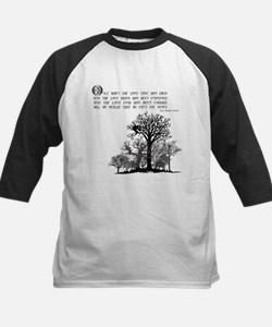 Native American Proverb Kids Baseball Jersey