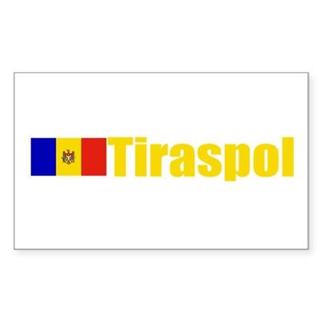 Tiraspol, Moldova Rectangle Sticker