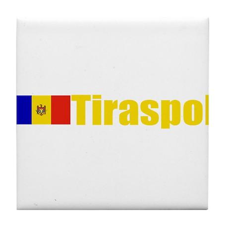 Tiraspol, Moldova Tile Coaster