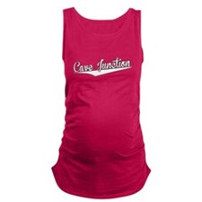 Cave Junction, Retro, Maternity Tank Top