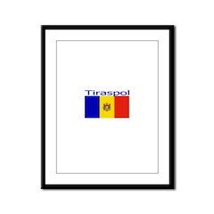 Tiraspol, Moldova Framed Panel Print