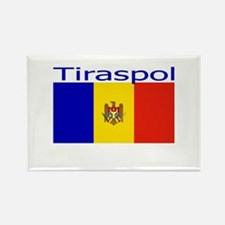 Tiraspol, Moldova Rectangle Magnet