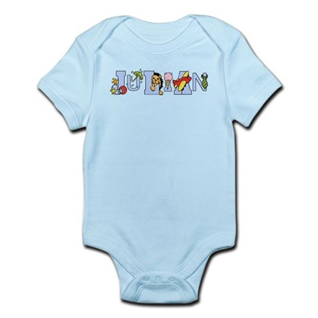 Julian's Alphabet Infant Bodysuit