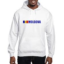 Moldova Flag Hoodie