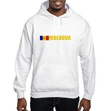 Moldova Flag (Dark) Hoodie