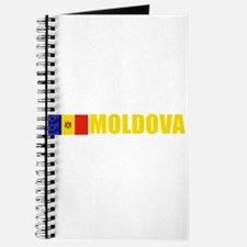 Moldova Flag (Dark) Journal