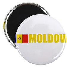 Moldova Flag (Dark) Magnet