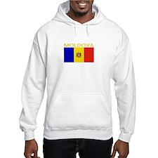 Moldova Flag II (Dark) Hoodie