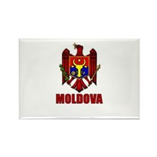 Moldova Coat of Arms Rectangle Magnet
