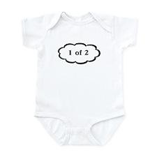 1 of 2 Twins Baby Infant Bodysuit