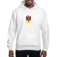 Moldova Coat of Arms (Dark) Hoodie