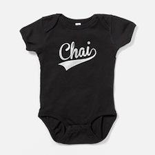 Chai, Retro, Baby Bodysuit