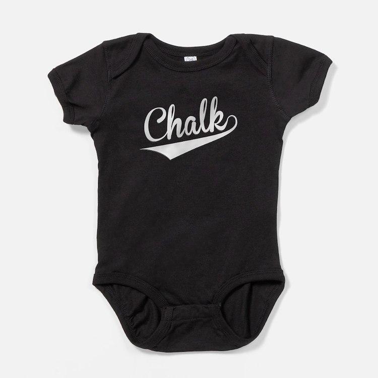 Chalk, Retro, Baby Bodysuit