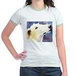 Borzoi Jr. Ringer T-Shirt