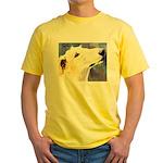 Borzoi Yellow T-Shirt
